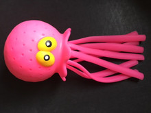Pink Splash Octopus