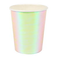Iridescent Party Cups
