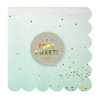 Toot Sweet Ombre Small Napkin