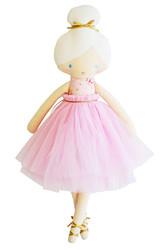 Amelie Ballet Doll- Pale Pink Floral