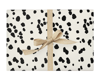Dalmatian Black and White Wrapping Paper