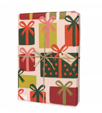 Single Present Wrapping Sheet