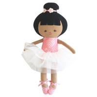Baby Ballerina Doll- Strawberry Pink