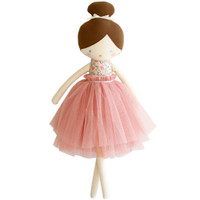 Amelie Doll- Blush Floral