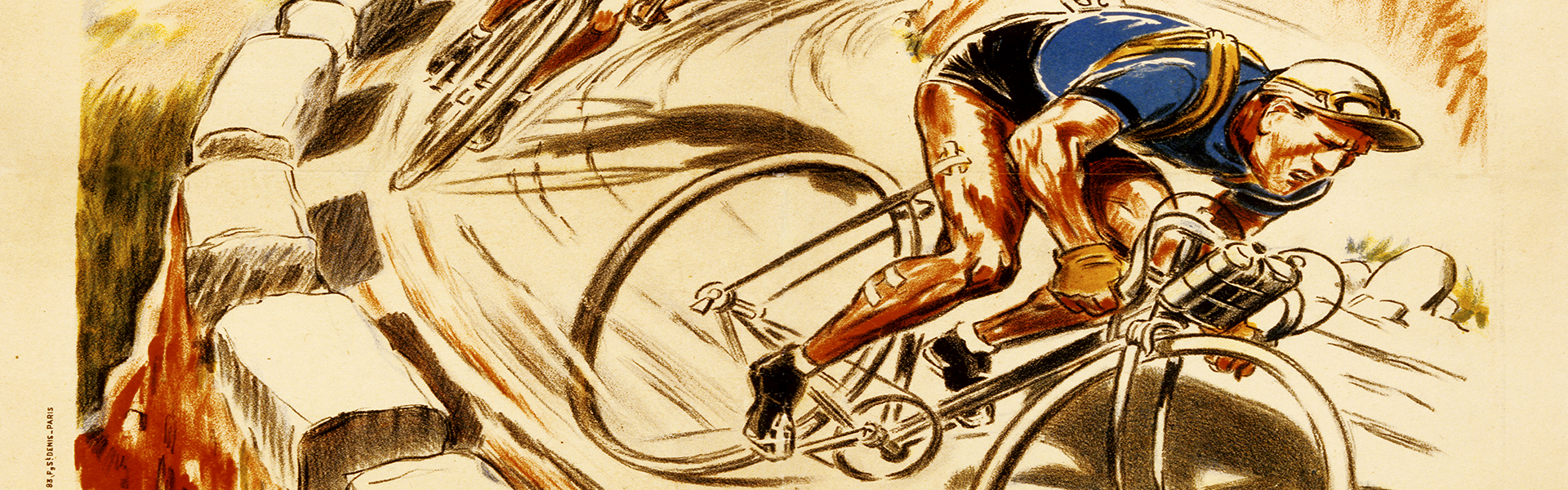 Vintage Bicycle Art | Cycling Artwork | Bike Posters