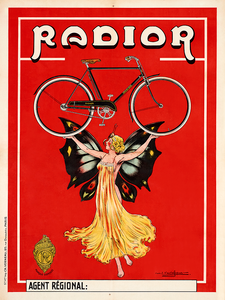 Radior Vintage Bicycle Poster
