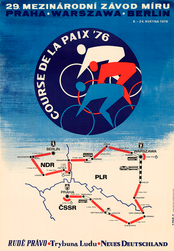 1976 Peace Race - Berlin Prague Warsaw