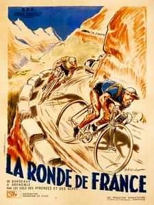 La Ronde De France Poster by Paul Ordner
