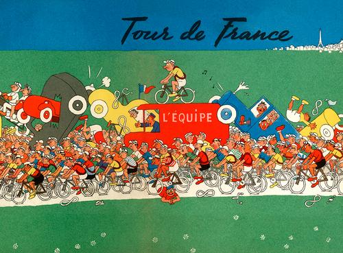 The Grande Boucle - The Tour De France