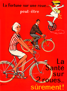 La Sante Bicycle Poster