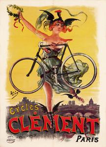 Cycles Clement Paris Poster
