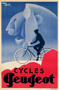 Cycles Peugeot - Deco Poster