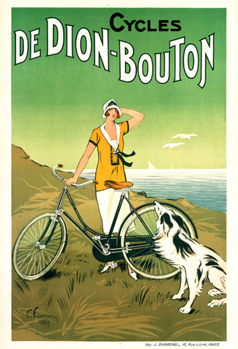 Cycles De Dion-Bouton Poster