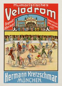 Humoristisches Velodrome Poster