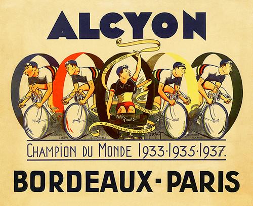 Alcyon - Bordeaux-Paris I Poster