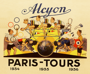 Alcyon - Paris-Tours I Poster