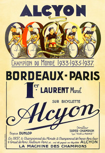Alcyon - Bordeaux-Paris Poster
