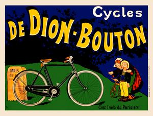 De Dion-Bouton Poster