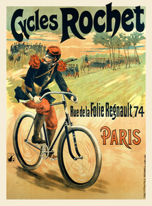 Cycles Rochet Soldier Poster