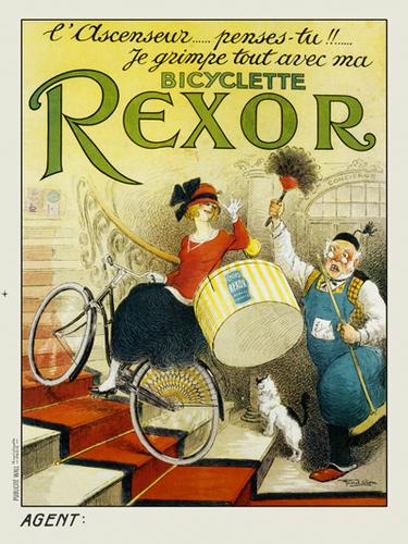 Bicyclette Rexor Poster