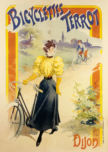 Bicyclettes Terrot Poster