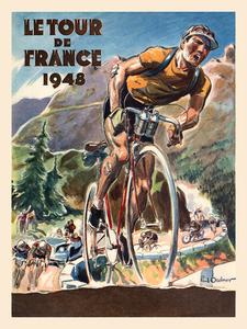 1948 Le Tour De France Poster