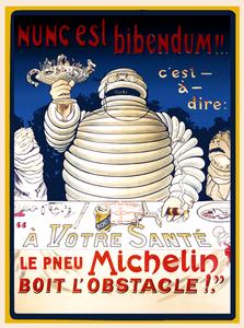 Le Pneu Michelin I Poster