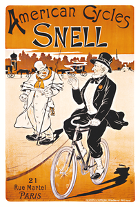 American Cycles Snell Poster
