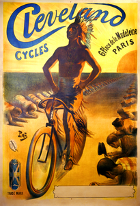 Cycles Cleveland Poster