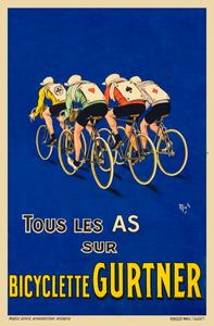 Bicyclette Gurtner Poster