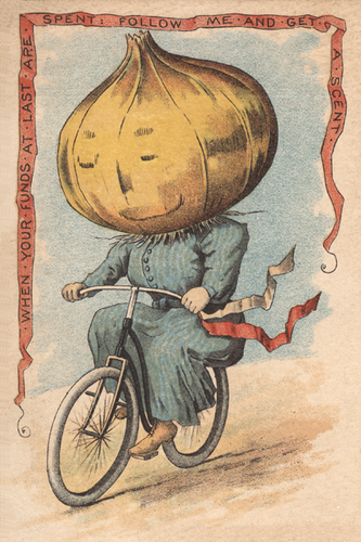 Onion Vegetable Rider Poster