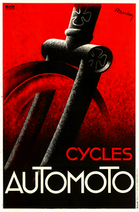 Cycles Automoto Poster