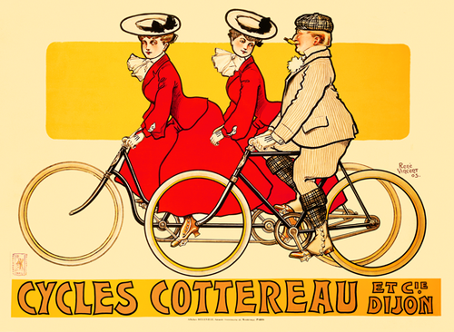 Cycles Cottereau Poster Print