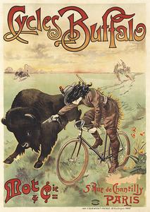 Cycles Buffalo  Poster