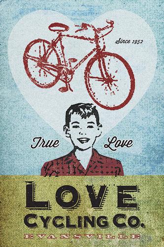 Love Cycling Company by John Evans