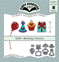 Birthday Charms Die Set