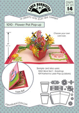Flower Pot Pop-Up Die Set