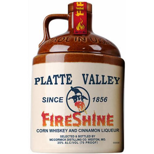 Platte Valley FireShine Corn Whiskey and Cinnamon Liqueur 750ml