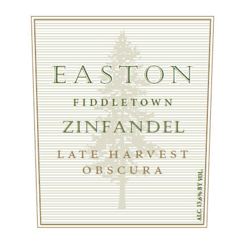Easton Fiddletown Vineyard Late Harvest Zinfandel