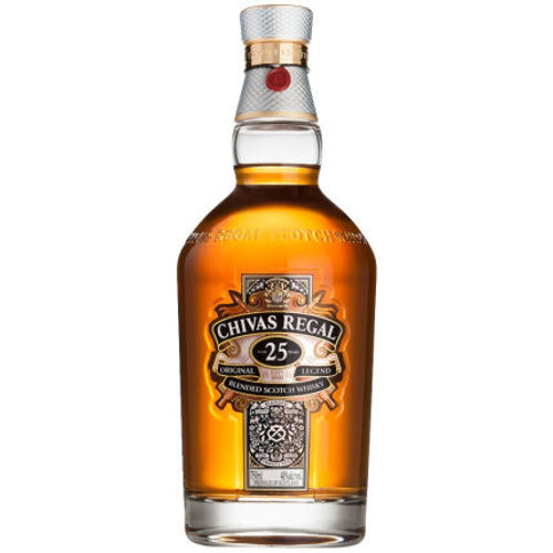 Chivas Regal 25 Year Old Blended Scotch 750ml