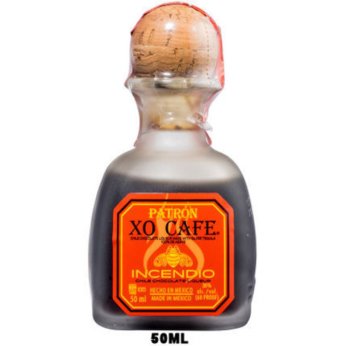 50ml Mini Patron XO Cafe Incendio Chile Chocolate Liqueur