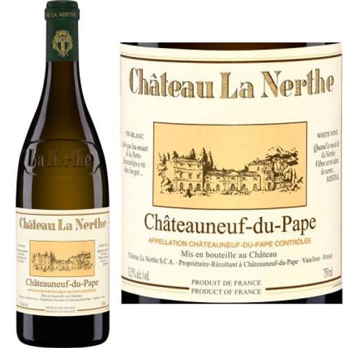 Chateau La Nerthe Chateauneuf du Pape Blanc