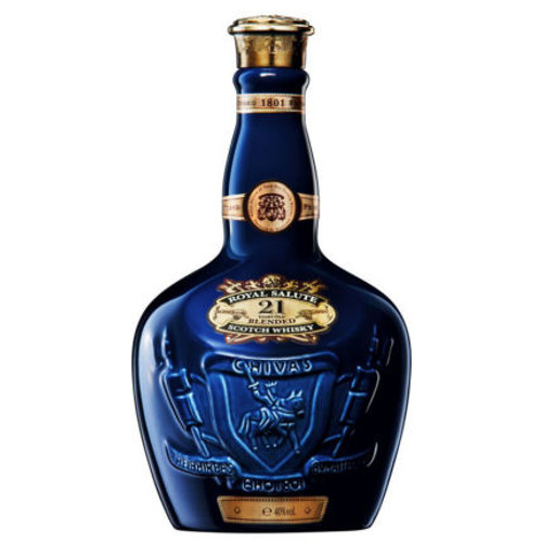 Chivas Regal Royal Salute 21 Year Old Blended Scotch Whiskey 750ml