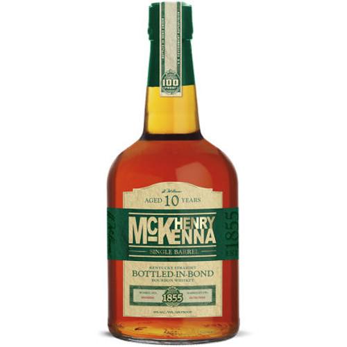 Henry McKenna 10 Year Old Single Barrel Kentucky Straight Bourbon Whiskey 750ml