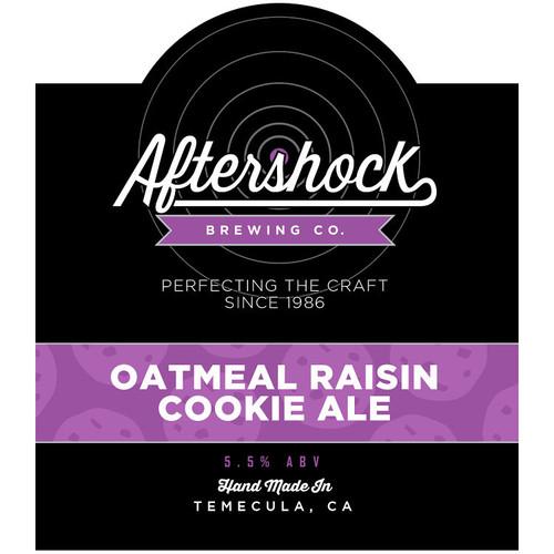 Aftershock Oatmeal Raisin Cookie Ale 22oz