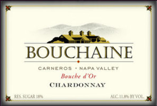Bouchaine Bouche d'Or Late Harvest Chardonnay
