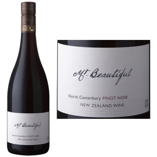 Mt. Beautiful North Canterbury Pinot Noir