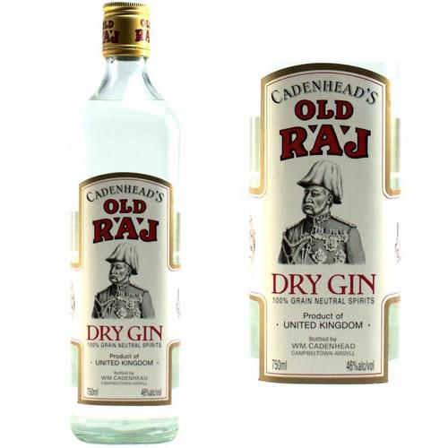 Cadenhead's Old Raj Dry Gin 92 Proof