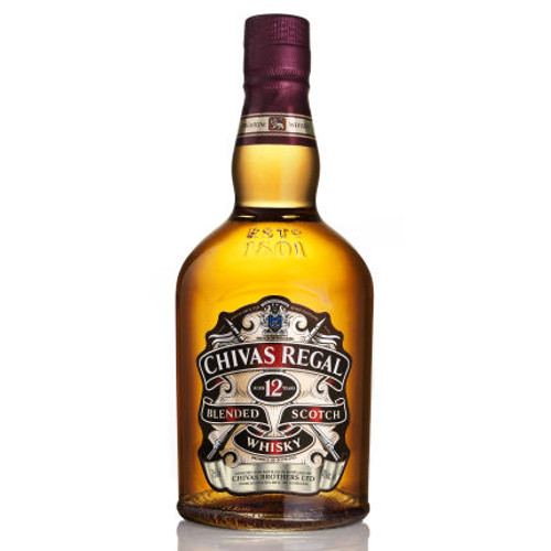 Chivas Regal 12 Year Old Blended Scotch 750ml