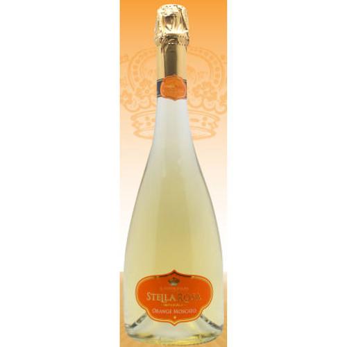 Il Conte d'Alba Stella Rosa Imperiale Orange Moscato NV